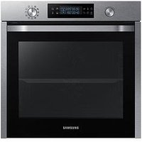 Samsung Nv75K5571Rs/Eu 60Cm Single Electric Oven With Dual Cook And 5 Year Samsung Parts And Labour Warranty - Stainless Steel
