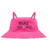 Joules Character Sun Hat, Bright Pink, Size M-L