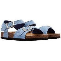 Joules Boys Strap Sandal, Chambray Denim, Size 2 Older