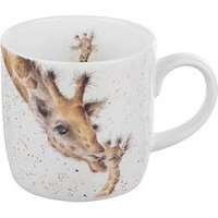 Product photograph showing Royal Worcester Wrendale First Kiss Mug