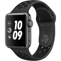 Apple Watch Nike+ Series 3 (2018 Gps), 38Mm Space Grey Aluminium Case With Anthracite/Black Nike Sport Band