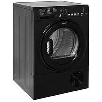 Hotpoint Aquarius Tcfs835Bgk 8Kg Load Condenser Sensor Tumble Dryer - Black