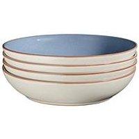 Denby Always Entertaining Blues 4-Piece Pasta Bowl Set