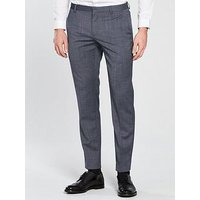 Calvin Klein Calvin Klein Modern Textured Suit Trouser, Cerulean Blue, Size 54=Uk38In, Men
