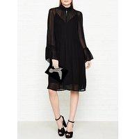 Gestuz Baxtor Chiffon Dress - Black