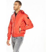 Replay Replay Lightweight Reversible Hooded Jacket, Red, Size M, Men