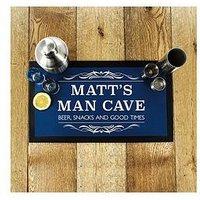 Personalised Man Cave Bar Mat