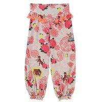 Billieblush Girls Printed Tassel Trousers, Multi, Size Age: 5 Years, Women