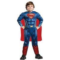 Justice League Childs Justice League Deluxe Superman Costume