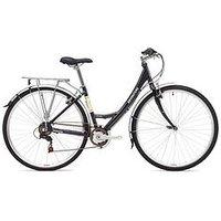 Adventure Prima Ladies Heritage Bike 17 inch Frame, Black, Women