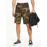 Vans Tremain Camo Cargo Shorts, Camo, Size 34, Men