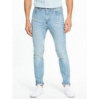 Levi's Levi's 510 Skinny Fit Jeans, Gingham Warp, Size 34, Length Short, Men