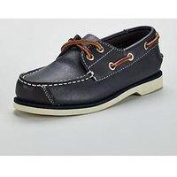 Timberland Seabury Classic 2 Boat Shoe, Navy, Size 2 Older