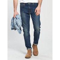 Levi's Levi's 512 Slim Tapered Fit Jeans, Madison Square, Size 34, Inside Leg Long, Men