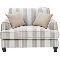 Ideal Home Harbour Fabric Cuddle Accent Chair