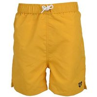 Lyle & Scott Boys Classic Swim Short, Yellow, Size Age: 4-5 Years