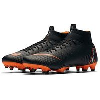 Nike Nike Mens Mercurial Superfly 6 Pro Firm Ground Football Boot, Black, Size 6, Men