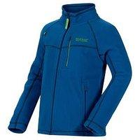 Regatta Boys Marlin V Fz Fleece Jacket, Royal Blue, Size 11-12 Years