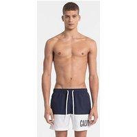 Calvin Klein Intense Power Swimshort, Blue Shadow, Size M, Men