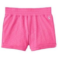 Joules Kittiwake Jersey Shorts, Rose Pink, Size Age: 6 Years, Women