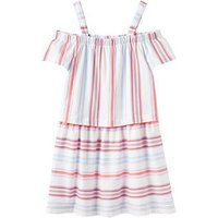 Joules Bridget Jersey Dress, Cream Summer Stripe, Size 9-10 Years, Women