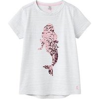 Joules Girls Astra Jersey Tshirt, Sky Blue Mermaid, Size Age: 5 Years, Women