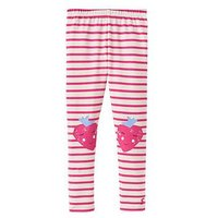 Joules Wilde Character Legging, Bright Pink Stripe, Size Age: 1 Year, Women