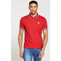 North Sails Tipped Polo, Red, Size M, Men