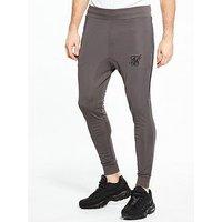 Sik Silk Zonal Skinny Jog Pant, Grey, Size M, Men