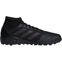 adidas Adidas Mens PREDATOR Tango 18.3 Astro Turf Football Boot, Black, Size 11, Men