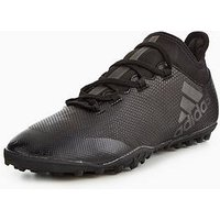 adidas X 17.3 Astro Turf Football Boots, Black, Size 6, Men