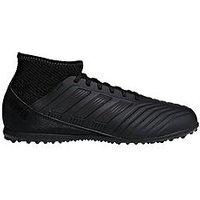 adidas Adidas Junior PREDATOR 18.3 Astro Turf Football Boots, Black, Size 12