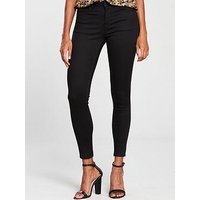 V by Very Premium Ultrasoft Skinny Jean - Black, Black, Size 18, Women