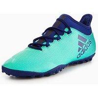adidas X 17.3 Astro Turf Football Boots, Ink, Size 12, Men