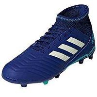 adidas Adidas Junior Predator 18.3 Firm Ground Football Boots, Ink, Size 3