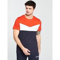 Jack & Jones Jack & Jones Core S/s Clarens T-shirt, Red, Size L, Men