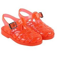 Hugo Boss Jellies, Red, Size 4 Younger