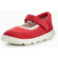 Kickers Infant Girls Jiri Strap Shoe - Dark Pink, Dark Pink, Size 8 Younger