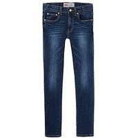 Levi's Boys Classics Slim Fit 512 Jeans, Indigo, Size Age: 4 Years