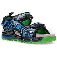 Geox Boys Andriod Tracker Sandal, Navy, Size 1 Older