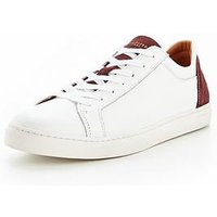 Selected Homme Selected Homme David Contrast Sneaker Trainer, White, Size 11, Men