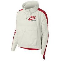 Nike Sportswear Archive Overhead Jacket - Cream/Red , Cream/Red, Size S, Women