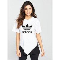 adidas Originals Colorado T-Shirt - White , White, Size 6, Women