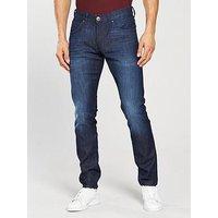 Wrangler Bryson Skinny Jean, Fast & Royal, Size 32, Length Regular, Men