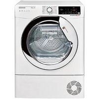 Hoover Dxhy10A1Tce 10Kg Load, Aquavision, Heat Pump Tumble Dryer With One Touch -  White/Chrome