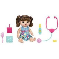 Baby Alive Sweet Tears Baby Brown Straight Hair, One Colour