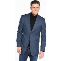 Skopes Skopes Tristan Dogtooth Check Blazer, Blue, Size 42, Men