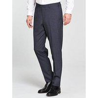 Skopes Kelham Tweed Slim Trousers, Blue, Size 28, Inside Leg Regular, Men