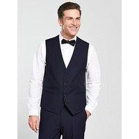 Skopes Newman Tuxedo Waistcoat, Navy, Size 52, Men