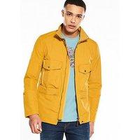 Pretty Green Portsmouth Jacket, Yellow, Size Xl, Men